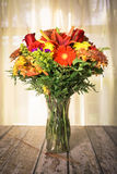 Autumn floral bouquet Stock Photos