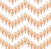 Autumn floral ornament seamless. Stock Images