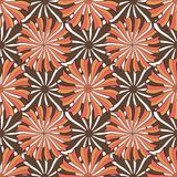 Autumn floral pattern. Vector seamless background texture. Fashion print for textile fabric packaging design Royalty Free Stock Image