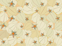 Autumn floral seamless pattern Royalty Free Stock Photography