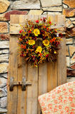 Autumn Floral Wreath Royalty Free Stock Image
