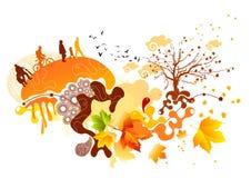 Autumn Flow Royalty Free Stock Image