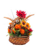 Autumn flower arrangement Stock Image