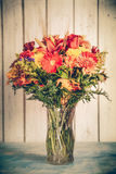 Autumn Flower Arrangement Royalty Free Stock Photo