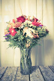 Autumn Flower Arrangement Royalty Free Stock Image