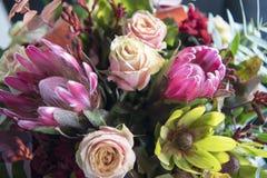 Autumn Flower Bouquet Stock Image