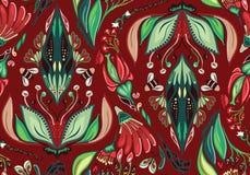 Autumn Flower Pattern inconsútil Imagen de archivo libre de regalías