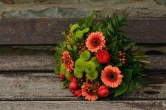 Autumn Flowers, Bouquet, Gerbera Stock Photography