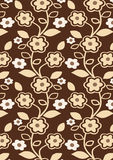 Autumn Flowers Pattern Royalty Free Stock Images