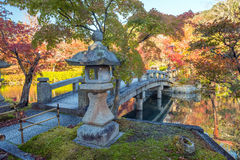 Autumn foliage at Eikando Temple. In Kyoto, Japan Stock Photography