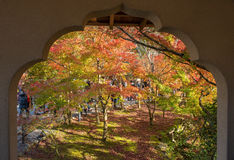 Autumn foliage at Eikando Temple Stock Photos