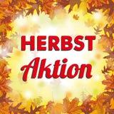 Autumn Foliage Fall Herbstaktion extérieur Image libre de droits