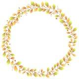 Autumn Foliage Frame Imagen de archivo libre de regalías