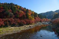 Autumn foliage in Korankei, Aichi, Japan Royalty Free Stock Photography