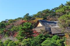 Autumn foliage in the Sankeien Garden, Yokohama, Kanagawa, Japan Stock Images
