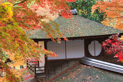 Autumn foliage in the Sankeien Garden, Yokohama, Kanagawa, Japan Royalty Free Stock Photography