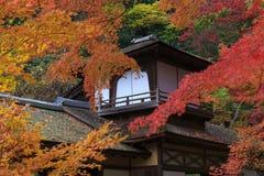 Autumn foliage in the Sankeien Garden, Yokohama, Kanagawa, Japan Stock Photos