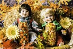 Autumn Foliage und Süßigkeit Stockfotografie