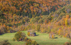 Autumn foliage in Vermont countryside, VT Royalty Free Stock Photography