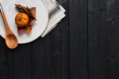 Autumn Food Background Concept. Royalty Free Stock Photos