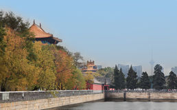 Autumn forbidden city Royalty Free Stock Photo
