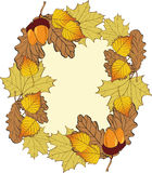 Autumn Frame . Royalty Free Stock Image