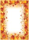 Autumn frame, Stock Image