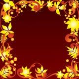 Autumn frame. Royalty Free Stock Photos