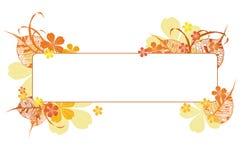 Autumn frame Royalty Free Stock Photo