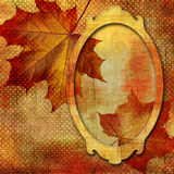 Autumn frame Royalty Free Stock Photography