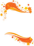 Autumn frame background Royalty Free Stock Photography