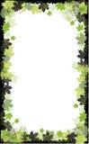 Autumn frame: maple leaf Royalty Free Stock Image