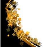 Autumn frame: maple leaf. Stock Photos