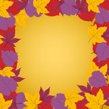 Autumn frame. Vector illustration of Autumn frame Stock Photos