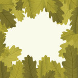 Autumn framework Stock Photo