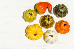 Autumn fresh organic vegetables background Royalty Free Stock Photo