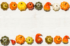 Autumn fresh organic vegetables background Stock Photo