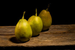 Autumn fresh pears Stock Photography