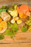Autumn fruit preserves Stock Photography