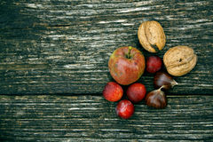 Autumn fruits Royalty Free Stock Image