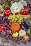 Autumn Fruits Foto de Stock Royalty Free