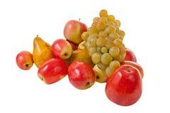 Autumn fruits harvest isolated stock photos