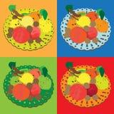 Autumn fruits series Stock Photography