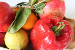 Autumn fruits of Sicily -  Close up - Italy Stock Image