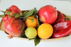 Autumn fruits of Sicily - Italy Stock Images