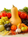 Autumn fruits and vegetables Royalty Free Stock Image