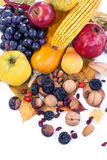 Autumn fruits and vegetables Royalty Free Stock Photography
