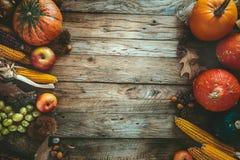 Autumn fruitsetting Royalty Free Stock Photography