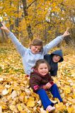 Autumn Fun Stock Image