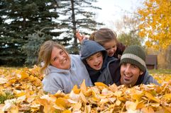Autumn Fun Royalty Free Stock Photography